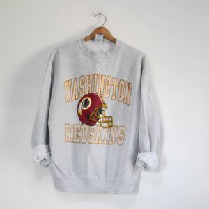Vintage Washington Redskins Football Sweatshirt